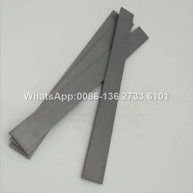 carbide flat strips