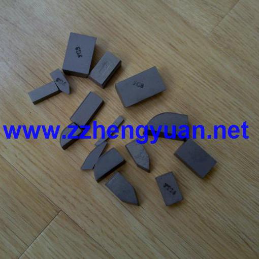 Brazed carbide inserts