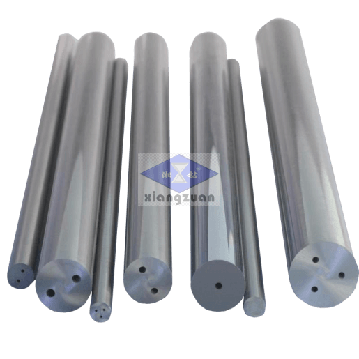 Carbide rods with two coolant holes 4