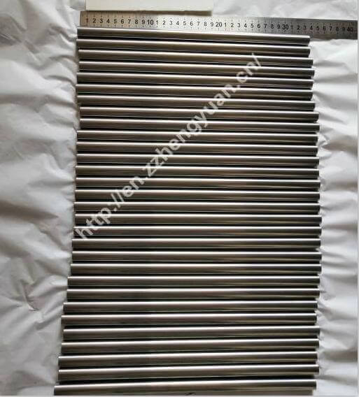 Cilindro de metal duro retificado D16*L330mm