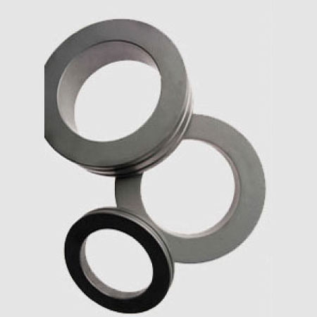 Finished carbide rolling rings