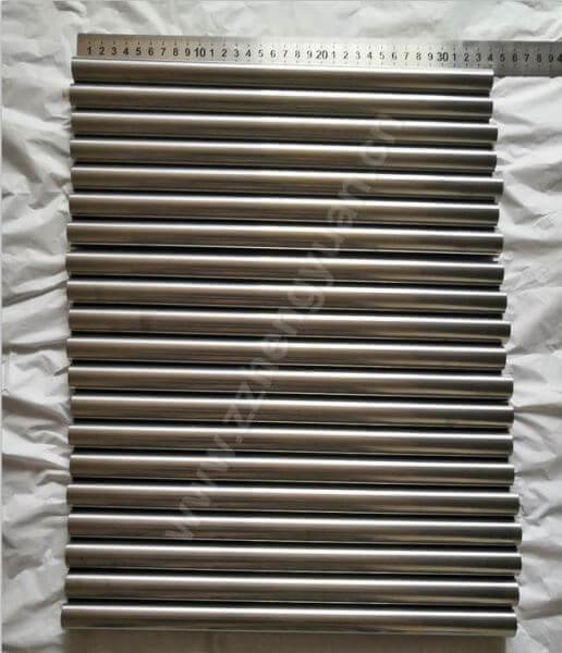 Ground tungsten carbide rods