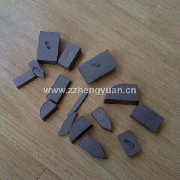 carbide inserts brazed
